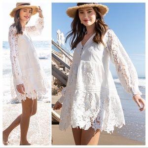 POL Romance Lovely Lace White Dress